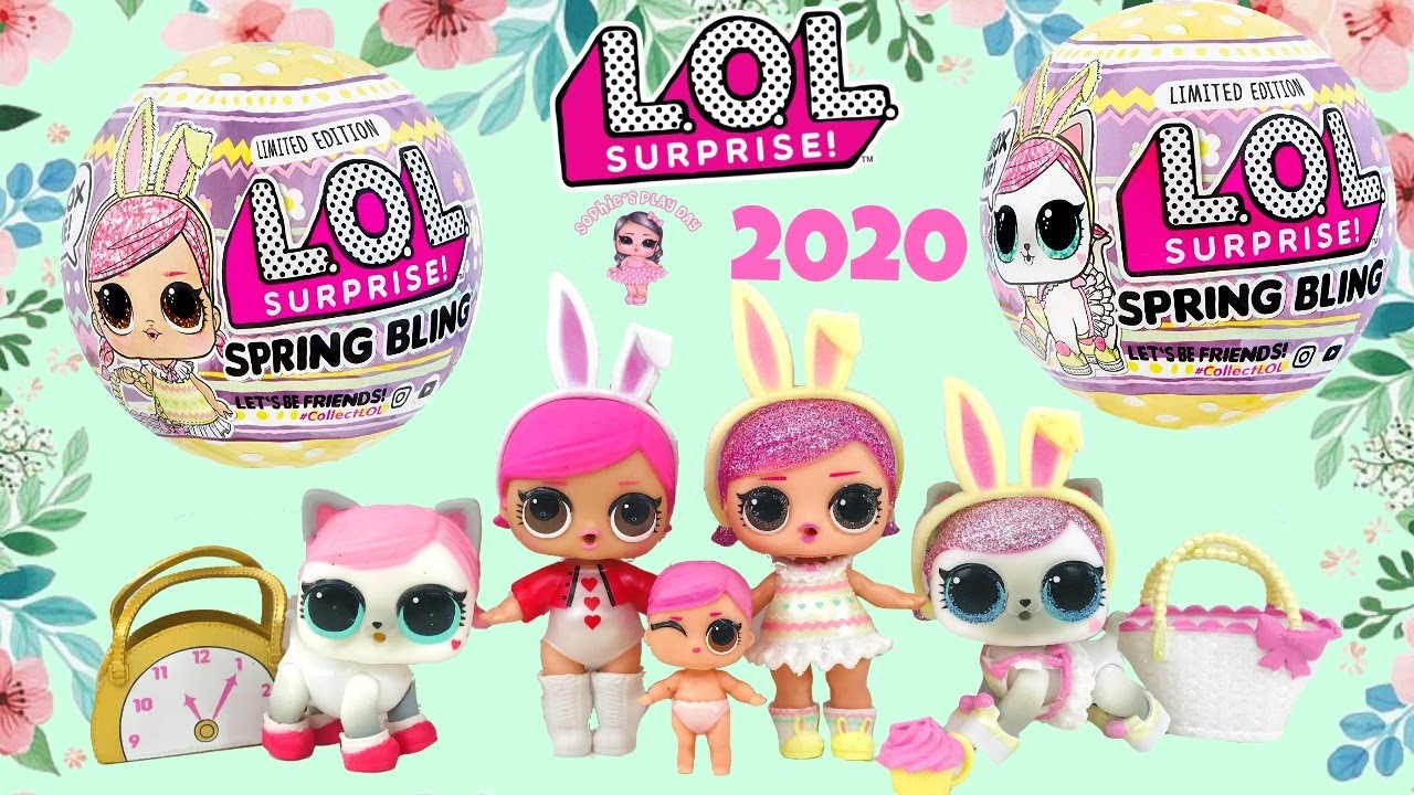 Hops And Hops Kit-Tea LOL Surprise SPRING BLING Limited Edition