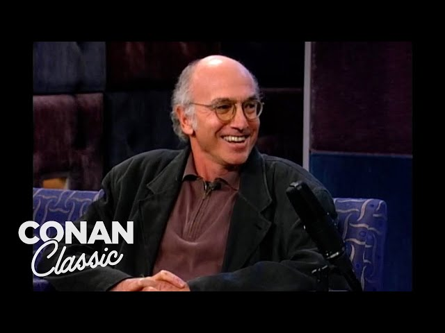 """Larry David Won \""""The Contest\"""" - \""""Late Night With Conan O\'Brien\"""""""