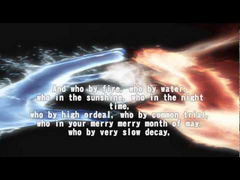 Leonard Cohen - Who by Fire (Lyrics)