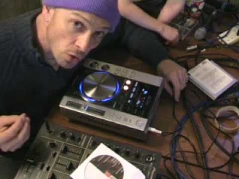 Video 3,  on the cdj200, Zip, Jet and Wah, FX's