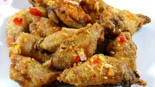 Fish Sauce Chicken Wings - Canh Ga Chien Nuoc Mam