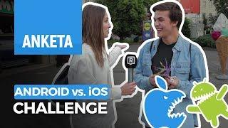 Challenge: Ovládanie Androidu vs. Apple (iOS)