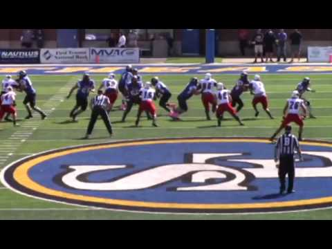 Southeastern Oklahoma State University Football Mid Season Highlight 2016