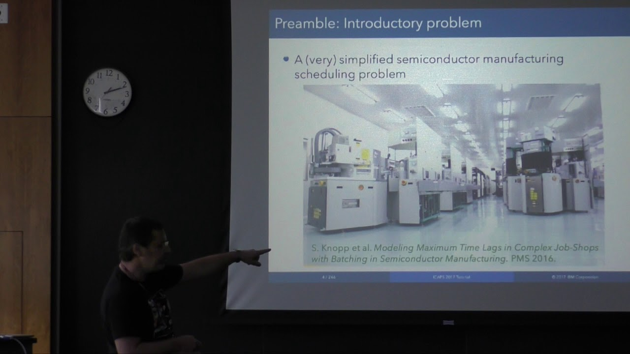 ICAPS 2017: Tutorial: Philippe Laborie: Introduction to CP Optimizer for  Scheduling