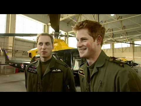 Prince William and Prince Harry interview on pressure on the Armed Forces