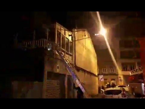 Registrado un incendio en la rúa Perpetuo Socorro