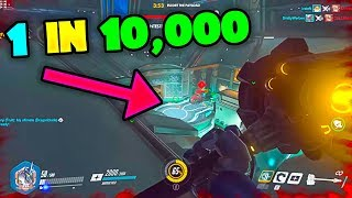 Overwatch CRAZY RARE Moments That Happen 1 in 10,000 Games