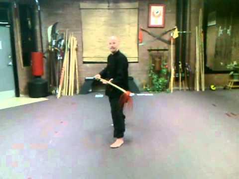 Spear, 3 Sectional Staff, Nunchaku - YouTube