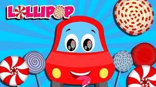 Lollipop Song | Little Red Car Cartoons | Songs For Children - Kids Channel
