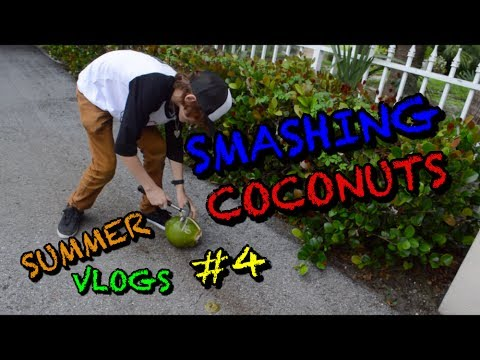 500 FIDGET SPINNERS???///Cracking Coconut Challenge [Summer vlogs #4]