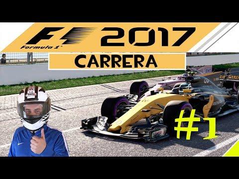 F1 2017   CARRERA PROFESIONAL CON MAXON #1   GP. AUSTRALIA Y R26   PS4 PRO   T300 ED.ALCÁNTARA