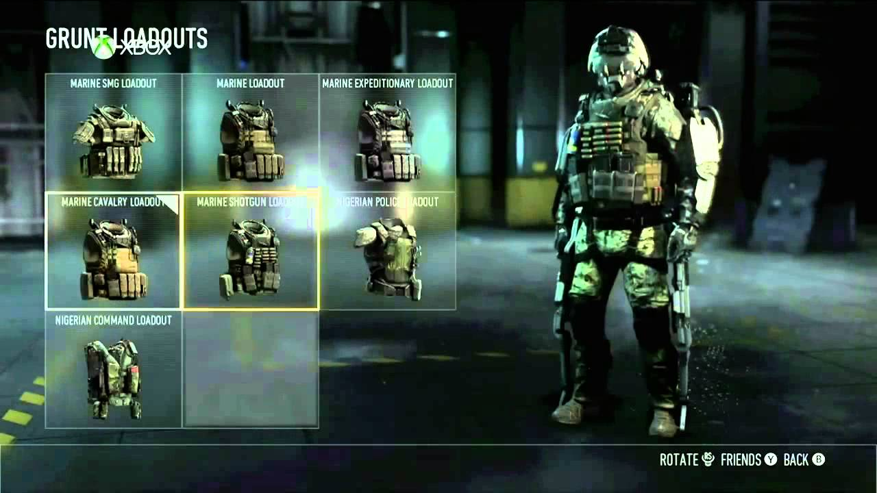 Call of duty advanced warfare create a class multiplayer gameplay