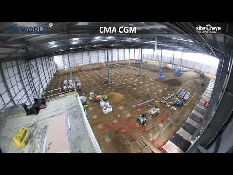 CMA CGM Multi-temperature Warehouse At DP World London Gateway Logistics Park