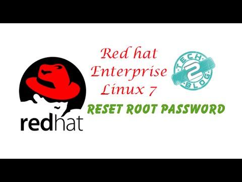 Reset Root Password In RHEL 7/Centos7 In VM