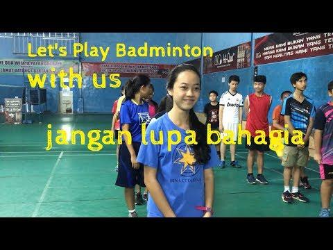 Let's Play Badminton #part1