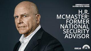 H.R. McMaster, Former National Security Advisor