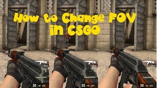 How to Change FOV in CSGO Working 2017-18 100% - TrickyTorials Youtube