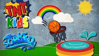 POOL BASKETBALL!! Who Wins? (TNT Kids)