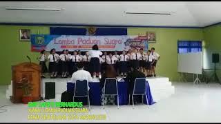PADUAN SUARA SMP SANTO BERNARDUS, Juara I Pekan Seni Pelajar Kota Madiun 2018