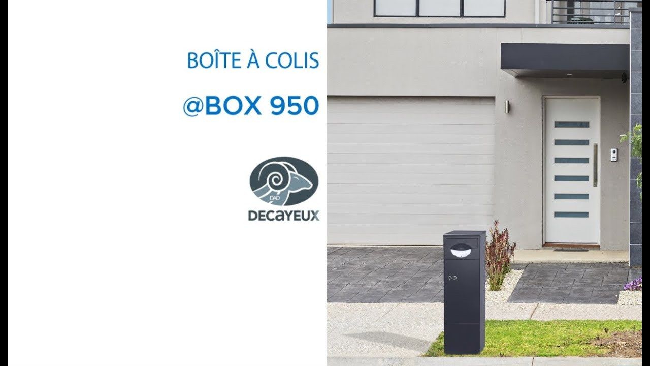 boite colis box 950 decayeux 675692 castorama youtube. Black Bedroom Furniture Sets. Home Design Ideas