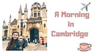 A Morning in Cambridge