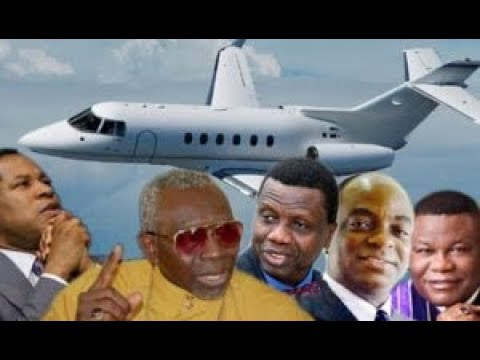 Dangote vs bishop oyedepo vs pastor adeboye  vs pastor Joshua private jet