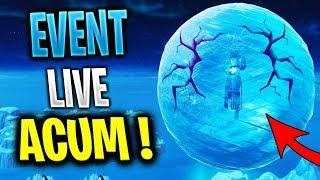 Noul EVENT Live PE Fortnite !? - KEVIN RENASTE si Zombie de GHEATA APAR !?