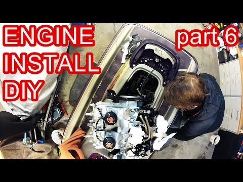 How to Rebuild a SEADOO 2stroke 951 - part 6 Engine