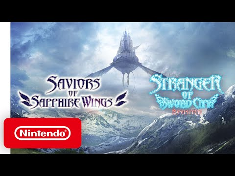 Saviors of Sapphire Wings/Stranger of Sword City Revisited - Release Date Trailer - Nintendo Switch