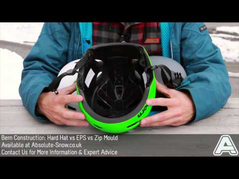Bern Helmet Construction Explained: Hard Hat VS EPS VS Zip Mould   Video Review