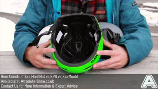 Bern Helmet Construction Explained: Hard Hat VS EPS VS Zip Mould | Video Review