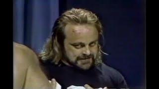 NWA CWF Florida Wrestling Kevin Sullivan at it again ..