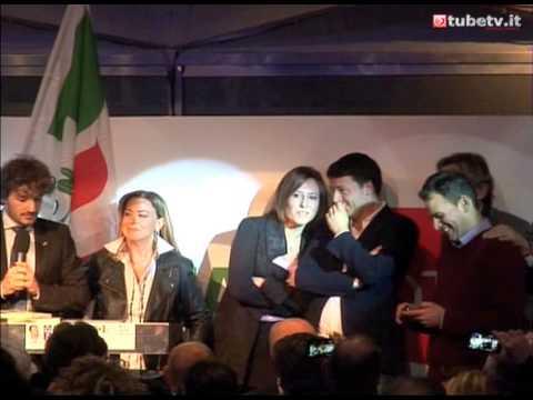 Edoardo Fanucci con Matteo Renzi al Lidò Le Panteraie