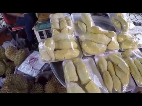 Durian Khon Kaen Thailand กินทุเรียนขอนแก่น