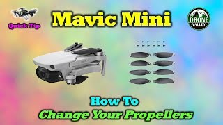 Mavic Mini - 3 Critical Things To Remember When Replacing a Damaged Prop