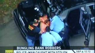 Bank Robbers VS Exploded Dye Packs:Crime Fail