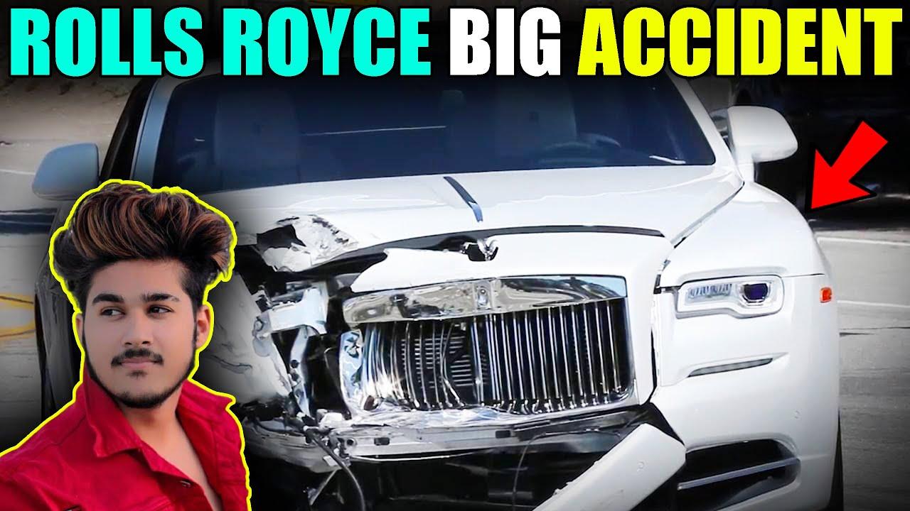 ROLLS ROYCE CRASH TEST GONE WRONG BIG ACCIDENT