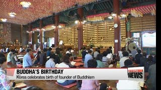 korea celebrates buddha s birthday wishing for harmony and respect
