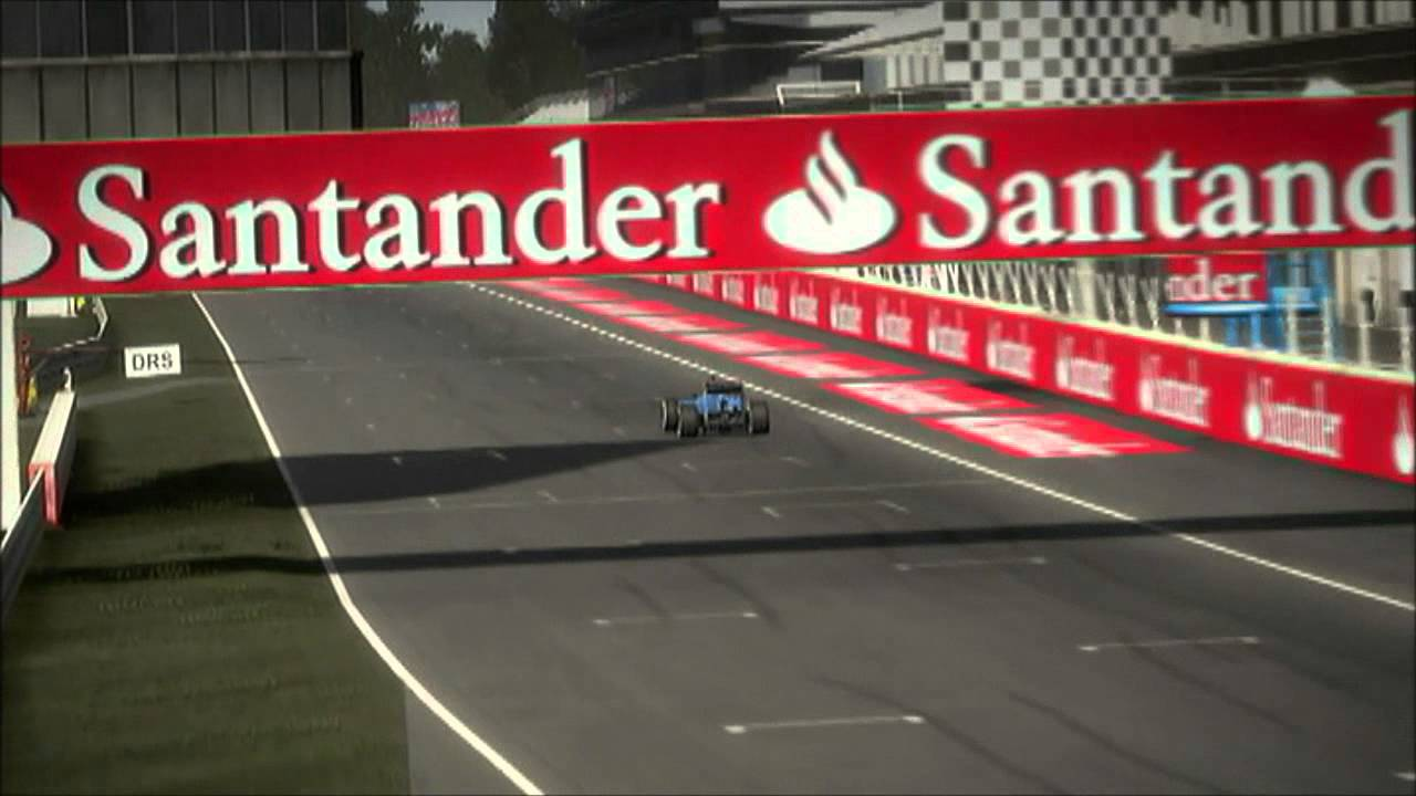 F1 2012 Monza Setup 1:19.307 - YouTube