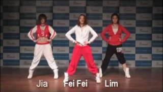 Chinese Wonder Girls - Boom Boom Pow Routine