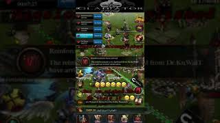GLADIATORS 1564 vs k948 .. Conquest Stage [ 11/8/2018 ] .. Clash of kings ( COK )