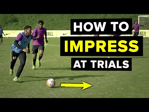 DO THIS to impress scouts at a football trial | 5 things