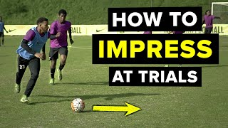 DO THIS to impress scouts at a football trial | 5 things screenshot 4