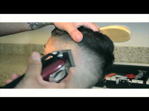 how to do a fade comb-over with Wahl Magic Clip/ Andis Slimline pro Li/ Andis Outliners