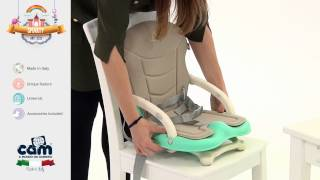 Video: Cam Smarty Booster Seat