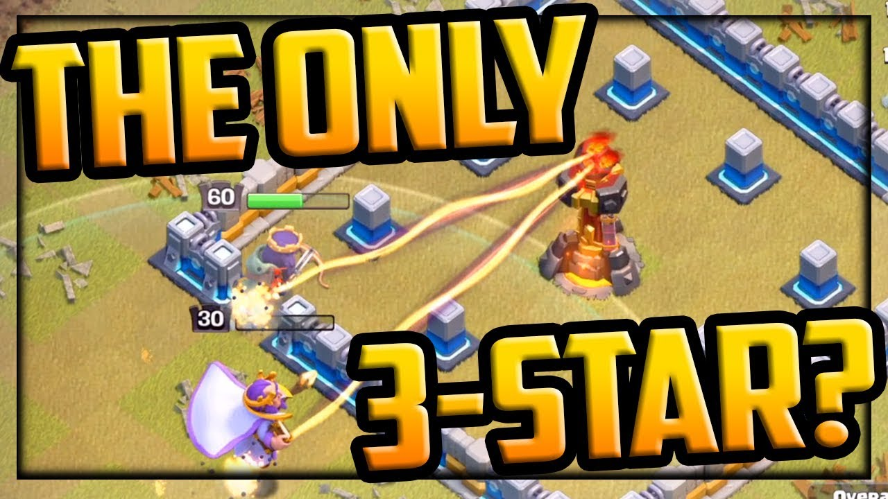 The ONLY THREE STAR in Clash of Clans Clan War League - Road to CHAMPION I? - YouTube