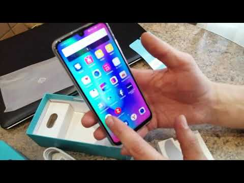 Обзор HONOR 10 Lite. Распаковка