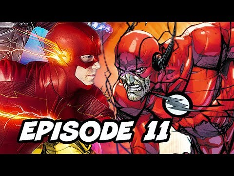The Flash Season 5 Episode 11 Negative Flash TOP 10 WTF and Easter Eggs