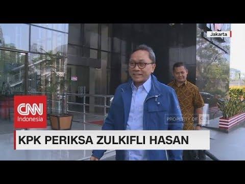 KPK Periksa Zulkifli Hasan Terkait Dugaan Suap Di Pemerintah Lampung Selatan
