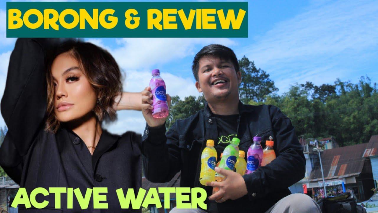 AUTO HEBOH BORONG & REVIEW MINUMAN TERBARU AGNEZ MO ACTIVE WATER